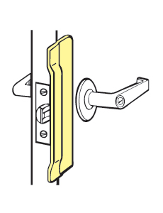 "Don-Jo CLP-106-630 Commercial Type For Outswinging Doors - 2-1/8"" x 6"""