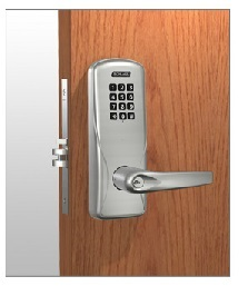 Schlage CO-200-993-M-70-KP Electronic Keypad Exit Trim for Mortise Exit Device