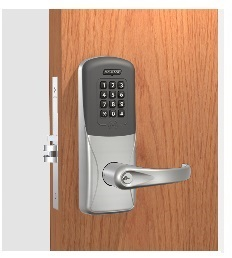 Schlage CO-200-993-M-70-PRK Proximity Reader with Keypad Lock Exit Trim for Mortise Exit Device