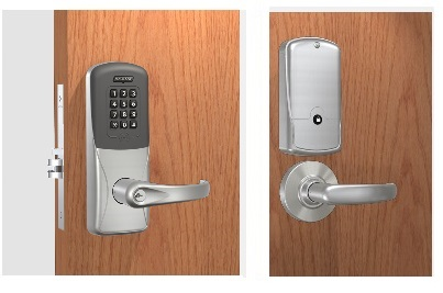 Schlage CO-200-MS-50-PRK Mortise Proximity Reader with Keypad Lock - with Audit Trail - Office Function