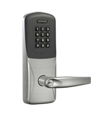 Schlage CO-200-993-R-70-PRK Proximity Reader with Keypad Lock Exit Trim for Rim Exit Device