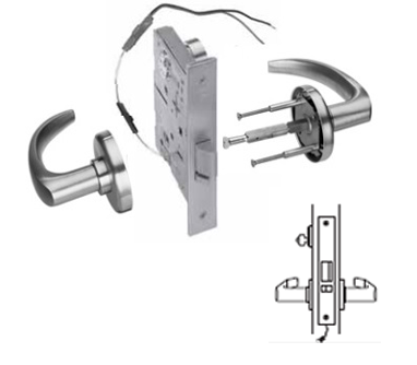 Stanley / BEST 45HW7DEL Electrified Mortise Lever Lock  - Fail Safe