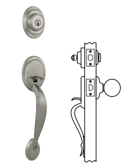 Kwikset Dakota Handlesets - Single Cylinder
