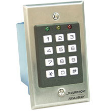 Securitron DK-16 Digital Keypad System - Secure, Easy-to-Program Single Door Control System (59 Users)