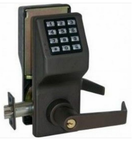 Alarm Lock Trilogy DL2700WP 10B Electronic Digital Lock - Weatherproof model - Oil Rubbed Bronze