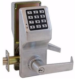 Alarm Lock Trilogy DL2700WP 26D Electronic Digital Lock - Weatherproof model - Satin Chrome (Special Price)