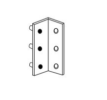Detex ECL-435K,  Surface Mount Adjustable Keeper for Double Door for ECL Series