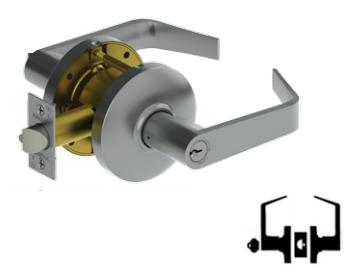 Hager 3580 Grade 2 Storeroom Lock