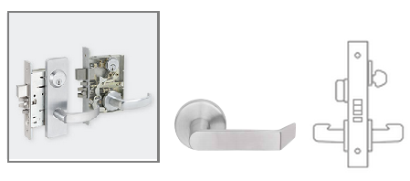 Schlage L9050 06 Mortise Office And Inner Entry Lock