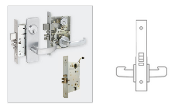 Schlage L9090 Mortise Lock Electrically Lock Unlock
