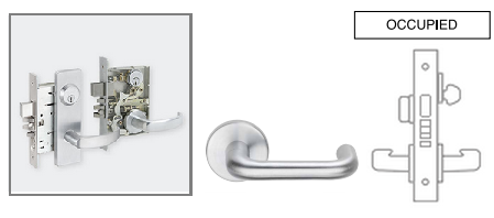 Schlage L9496 03 Mortise Privacy With Quot Occupied Quot Indicator