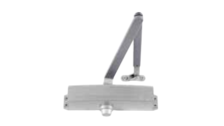 LCN 1250 RW/PA Cast Aluminum Door Closer - Tri-Pack Standard Arm