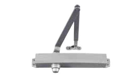 LCN 1450 RW/PA Cast Aluminum Door Closer - Tri-Pack Standard Arm