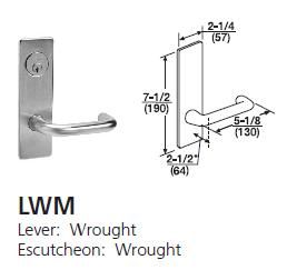 Corbin Russwin ML2067 Mortise Door Lock