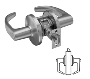 Stanley / BEST 9K30L Grade 1 Privacy Lever Lock