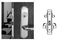 Corbin Russwin ML2042-YWR Mortise Entrance/Public Restroom Lock