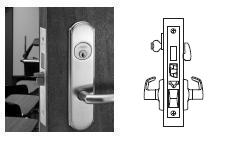 Corbin Russwin ML2067-ESP Mortise Apartment or Dormitory Lock