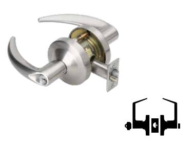 Schlage ND73BD RHO 626 Cylindrical Lock 9.5 Length 9.5 Length