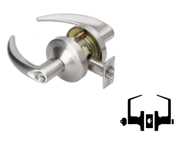 Schlage ND85PD - Heavy Duty Hotel Lever Lock with Cylinder