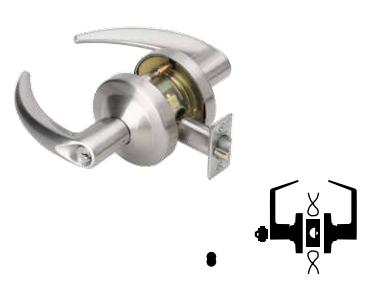 Schlage ND96JDEU Vandlgard Storeroom Lock LFIC Core - Elec