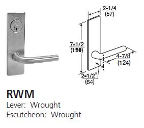 R Regis Lever Locks And Door Hardware At American Locksets