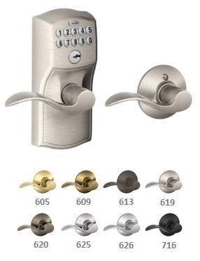 Schlage Fe575 Camelot Accent Keypad Lock W Auto Lock Html