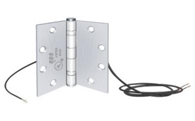 Electrified Door Hinge 8 Wires 4-1//2in W
