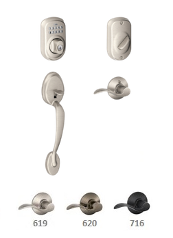 Schlage FE365 PLY Plymouth / Accent Keypad Front Entry