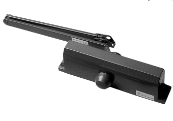 S.Parker 1954 Heavy Duty Door Closer With Hold Open Arm