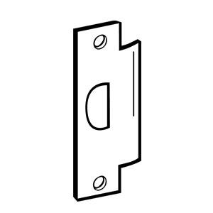 "DON-JO FLAT STRIKE ST-261-626 STAINLESS STEEL 4-7//8/"" X 1-1//4/"""