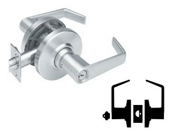 Schlage Deadlatch Storeroom Lever Lock ND80BD
