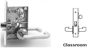 Sargent 8237 Classroom Mortise Lock