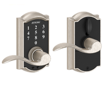 Touchscreen Entry Lever Locks