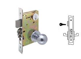 Yale 8807 Mortise Entry Knob Lock