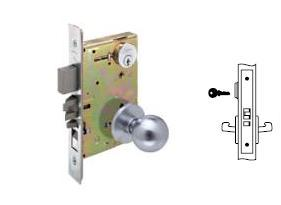 Yale 8808 Mortise Classroom Lever Knob lock