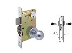 Yale 8860-2 Mortise Room door knob lock