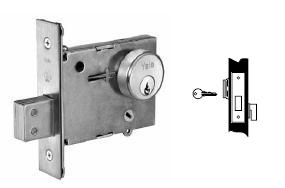 Yale 352 Cylinder x Thumbturn Mortise Deadbolt