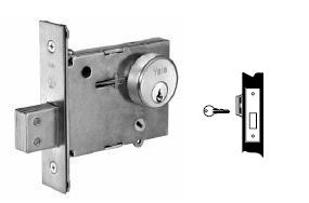 Yale 353 Single Cylinder Mortise Deadbolt