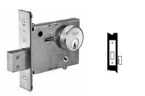 Yale 354 Exit, Thumbturn Only Mortise Deadbolt