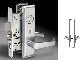 Yale 838AFL Mortise Dummy lever trim both sides