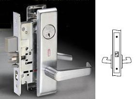 Yale 8801FL Mortise Passage Lever Set