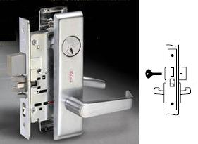 Yale 8802FL Mortise Privacy Lever Lock