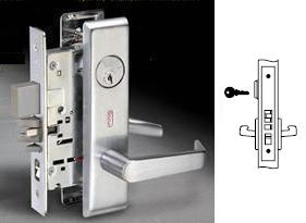 Yale 8807FL Mortise Entry Lever Lock