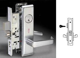 Yale 8808FL Mortise Classroom Lever lock