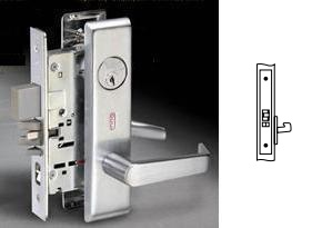 Yale 8828FL Mortise Exit or Communicating Lever Set