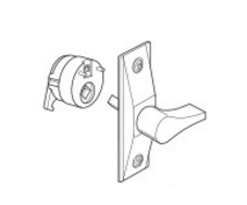 Adams Rite 4565 Deadlatch Handle - Thumbturn