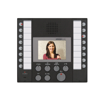 Aiphone AX-8MV Audio Video Master Station For AX Series