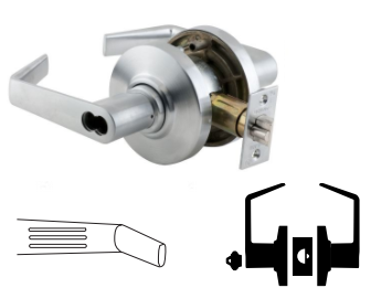 Saturn Sat Tactile Lever Locks And Door Hardware At