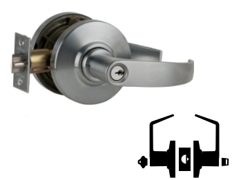 Schlage AL53PD NEP 612 Cylindrical Lock 9.5 Length 9.5 Length