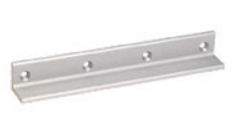 "SDC AB02V Angle Bracket, 1"" x 1-1/2"" x 8-3/4"", for 1581 - Aluminum"